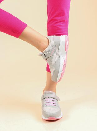 Pink - Sport - Casual - Girls` Shoes - Fast Step