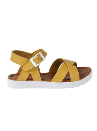 Yellow - Girls` Sandals