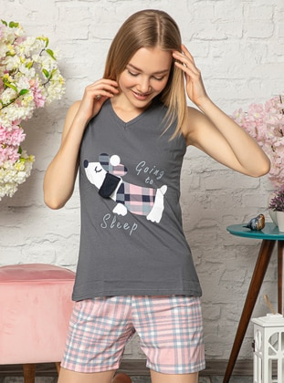 Smoke - Cotton - Pyjama Set