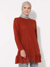 Terra Cotta - Crew neck -  - Tunic