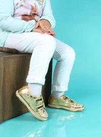 Gold - Sport - Girls` Shoes