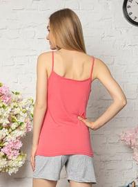 Coral - Cotton - Pyjama Set