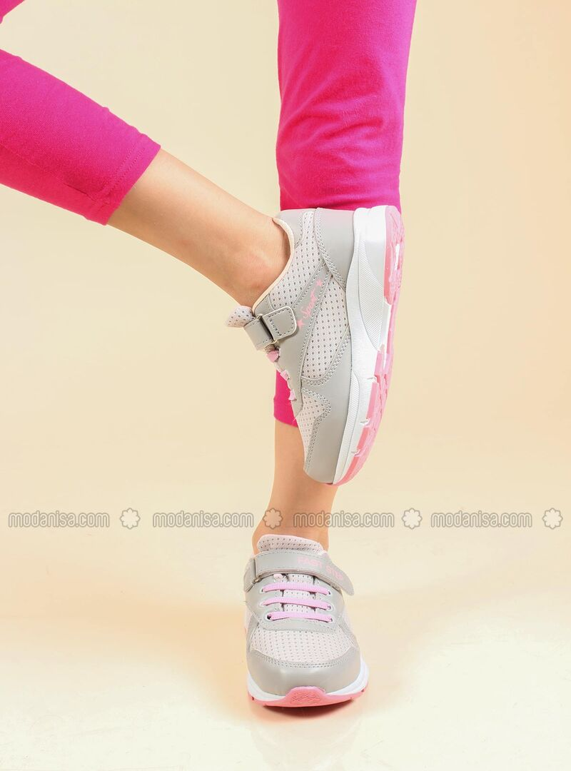 Pink - Sport - Casual - Girls` Shoes