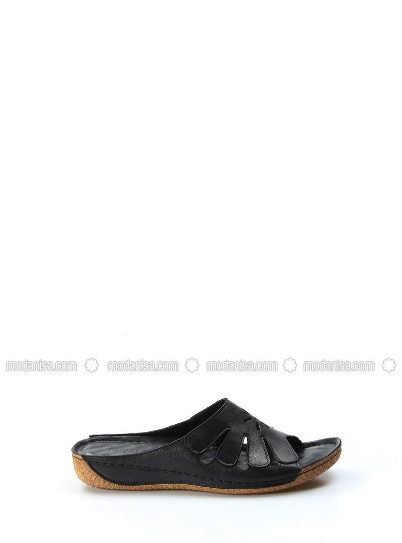 Black - Sandal - Girls` Shoes