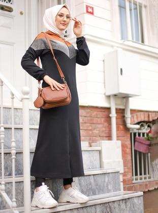 Brown - Black - Unlined -  - Topcoat