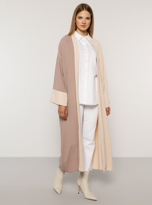 Lilac - Stone - Unlined - Plus Size Coat