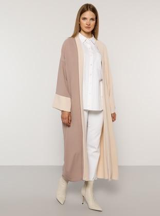 Lilac - Stone - Unlined - Plus Size Coat