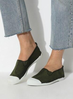Casual - Khaki - Casual Shoes