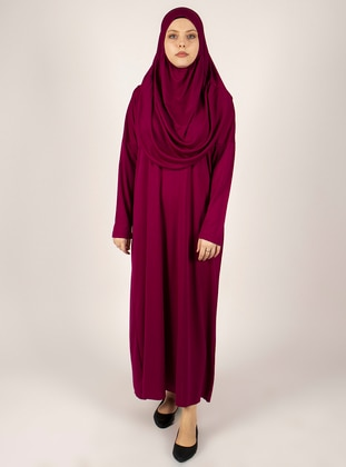 Plum - Unlined - Prayer Clothes