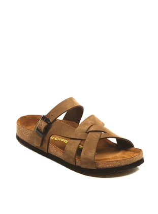 Brown - Sandal - Slippers