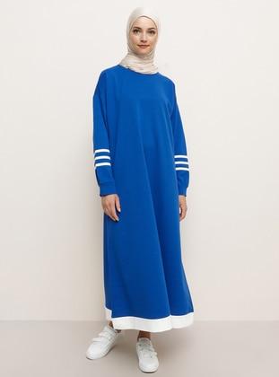Saxe - Crew neck - Unlined -  - Dress