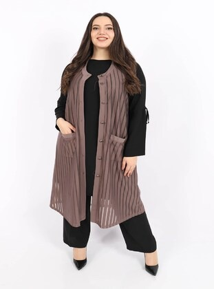 Mink - Plus Size Vest