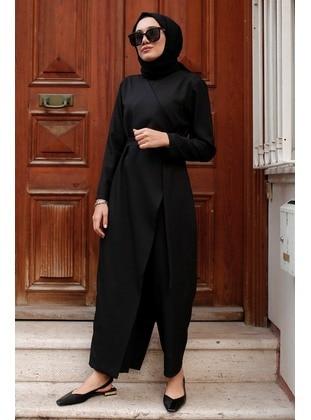 Black - Jumpsuit - GİZCE