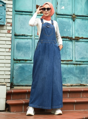Blue - Denim -  - Culottes - Neways