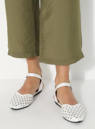 Ecru - Sandal - Sandal