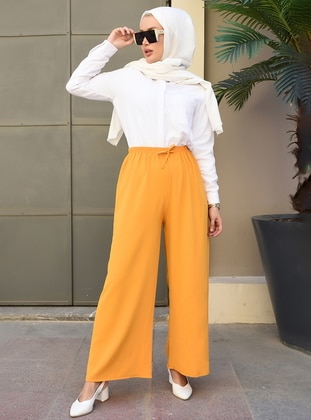 Mustard - - Pants