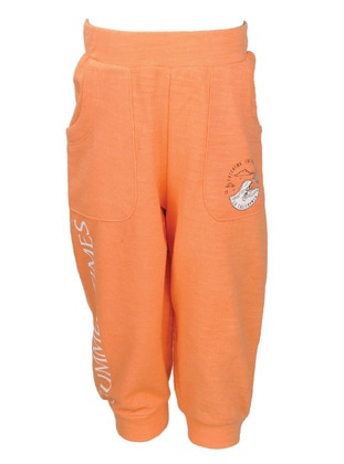- Orange - Boys` Pants