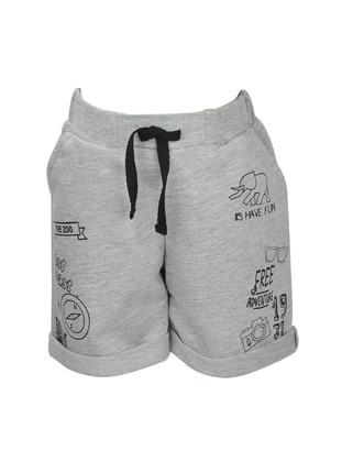 - Gray - Boys` Shorts