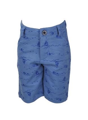 - Blue - Boys` Shorts
