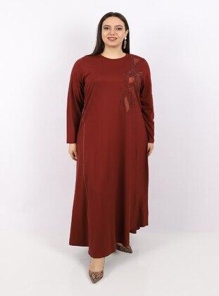 Terra Cotta - Plus Size Dress