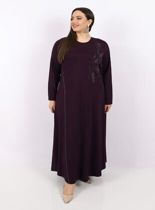 Plum - Plus Size Dress