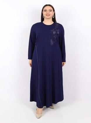 Saxe - Plus Size Dress
