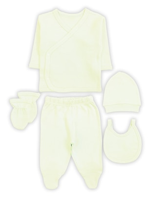 Crew neck -  - Cream - Baby Care-Pack