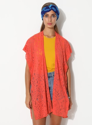 Viscose - Orange - Pareo