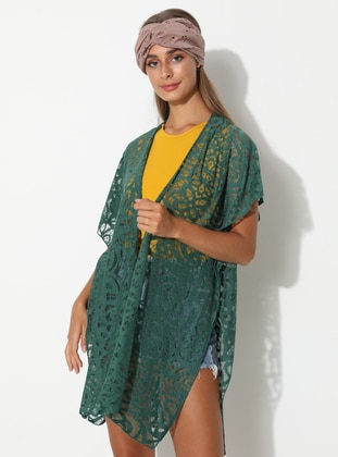 Viscose - Green - Pareo