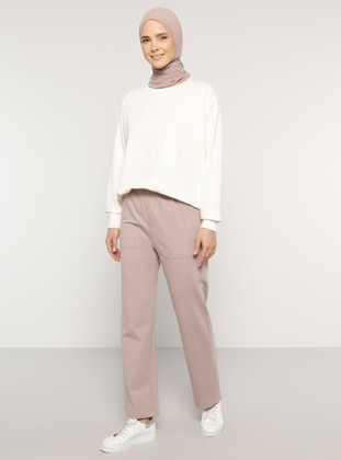 Pink -  - Tracksuit Bottom - Everyday Basic