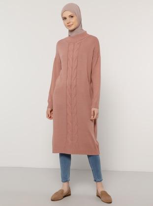 Rose - Crew neck - Unlined - Knit Tunics