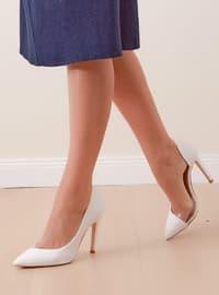 High Heel - White - Heels