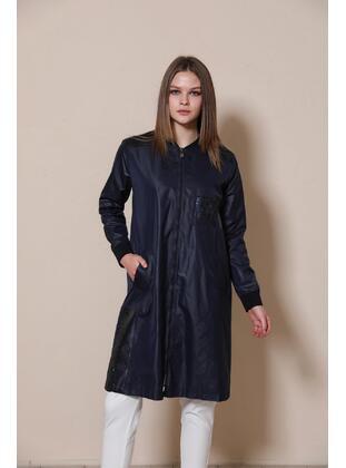 Navy Blue - Topcoat