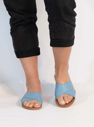 Baby Blue - Sandal - Slippers