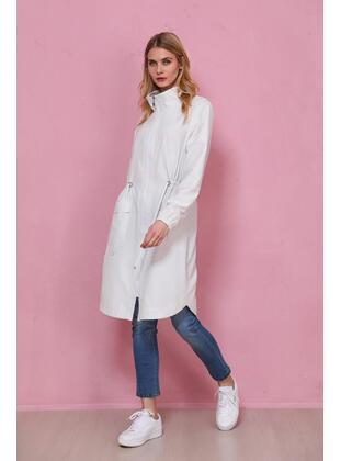 White - Trench Coat