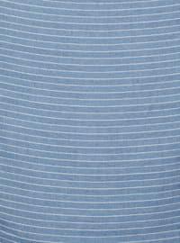 Anthracite - Striped - Plain - Scarf
