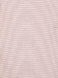 Powder - Striped - Plain - Scarf