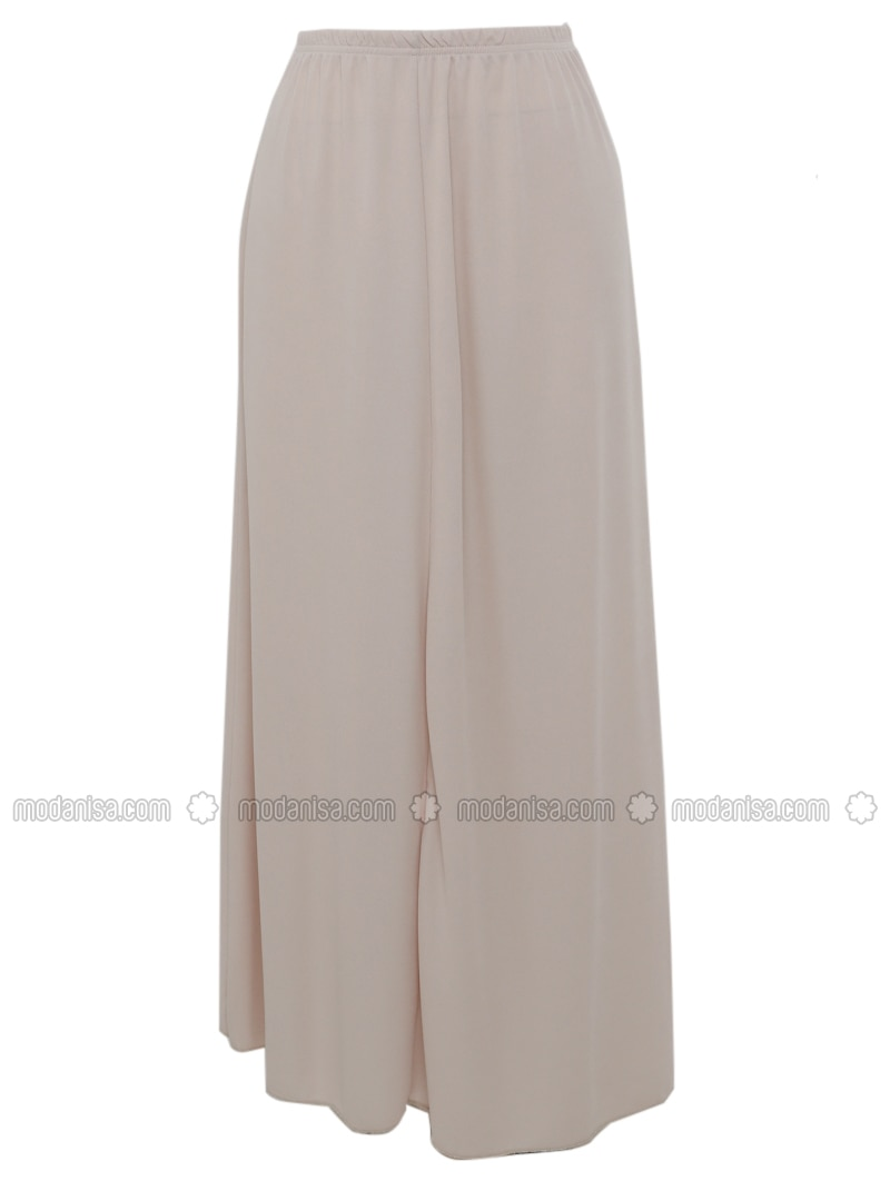Cream - Unlined - Skirt