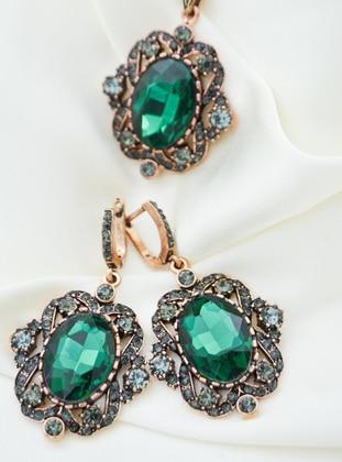 Green - Accessories Set