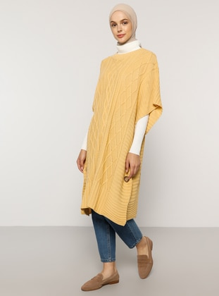 Nude - Unlined -  - Poncho - Benin