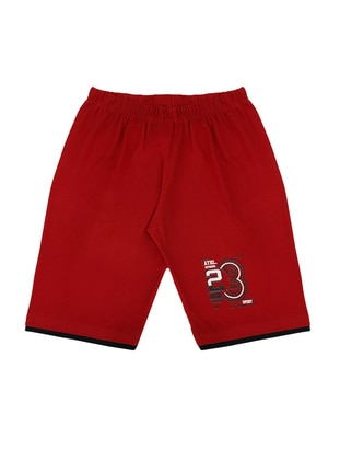 - Unlined - Red - Boys` Shorts
