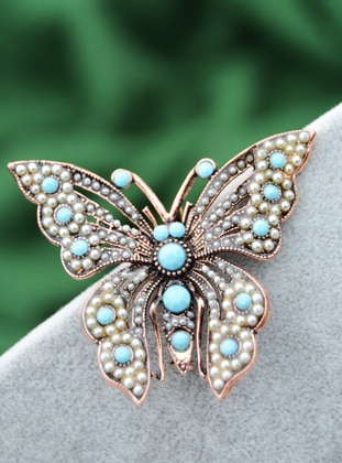 Turquoise - Brooch