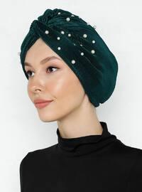 Emerald - Plain - Instant Scarf