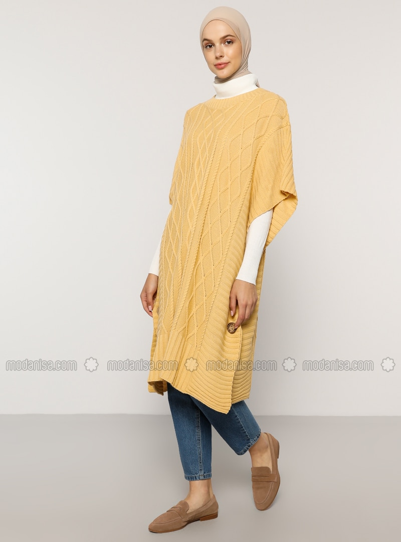 Nude - Unlined - - Poncho