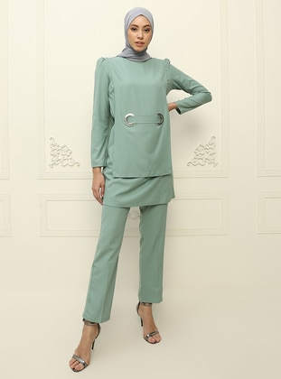 Unlined - Green Almond - Evening Suit