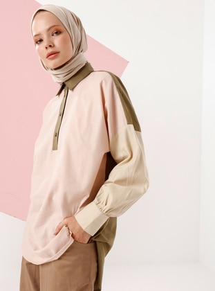 Powder - Point Collar -  - Tunic