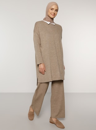 Mink - Crew neck - Knit Tunics