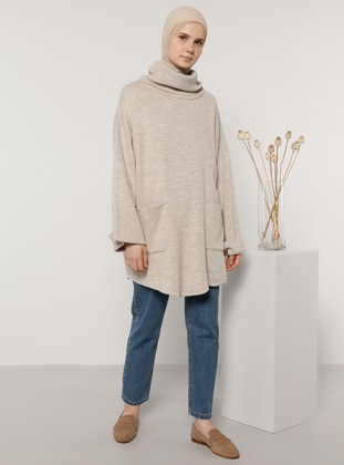 Stone - Polo neck - Knit Tunics