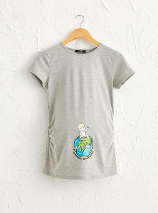 Gray - Maternity Clothing