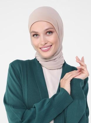 Emerald - V neck Collar - Acrylic - - Cardigan